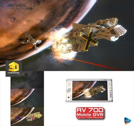 Illustration 3D - Vaisseaux spatiaux