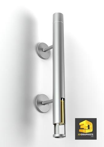 image de synthese 3d accessoire de douche
