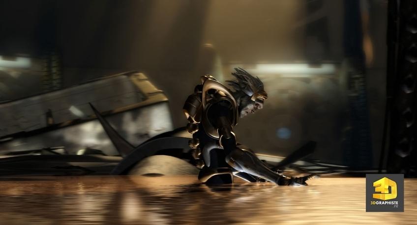 kaena, la prophetie - animateur 3d personnages