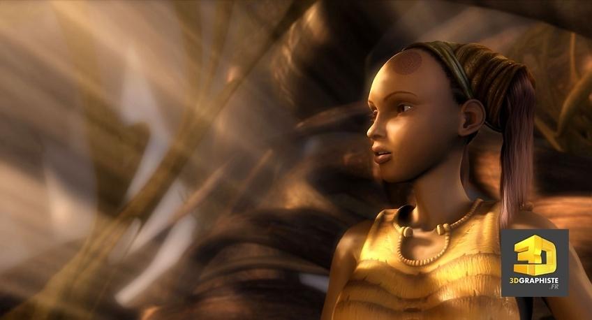 kaena, la prophetie - animation de personnages en 3d