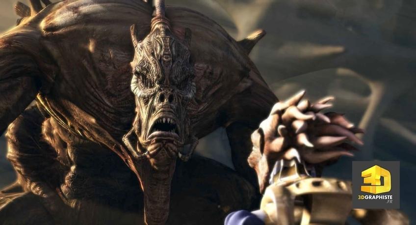 kaena, la prophetie - creation de personnages 3d