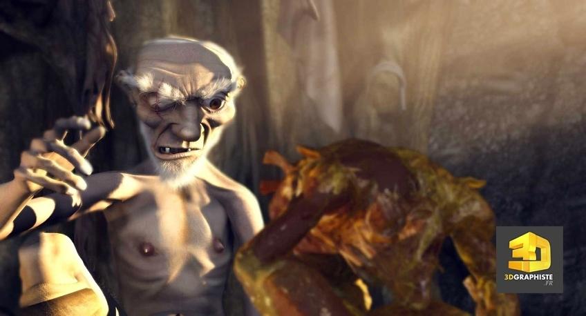 kaena, la prophetie - graphiste 3d personnages