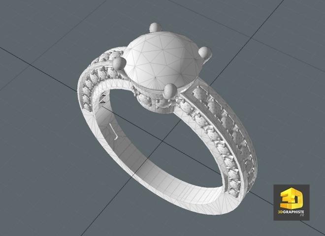 modeleur 3d bijoux