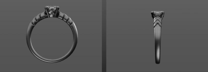 modelisation 3d bijoux