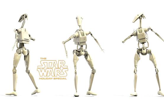 Personnage 3D - Robot starwars