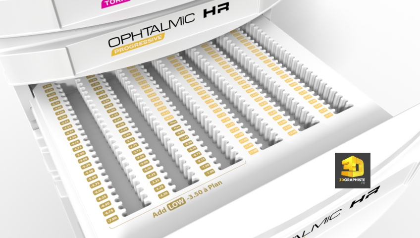 Rendu 3D - Meuble Ophtalmique