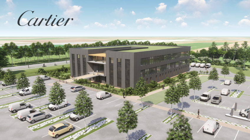 Usine en infographie 3D - Manufacture Cartier
