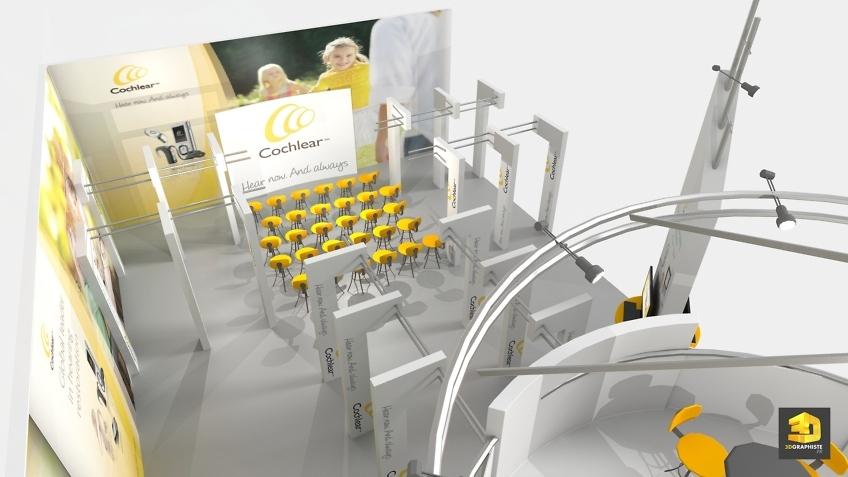 Cochlear booth design