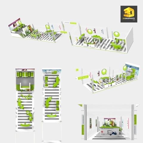 Conception de stand d'exposition Phonak
