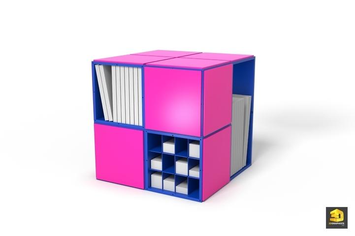 Designer de meuble de rangement etageres paris