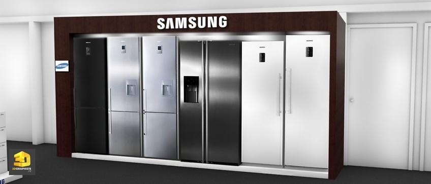 Designer meubles niches réfrigérateurs