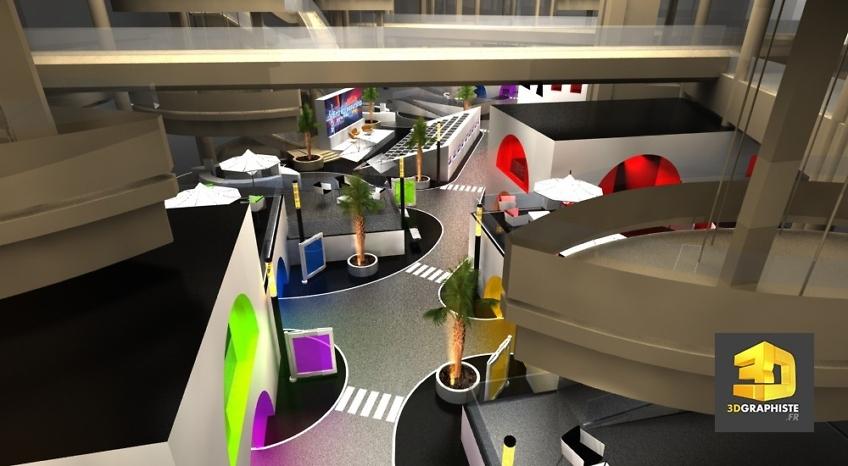 Freelance événementiel - événement Mall Dubaï