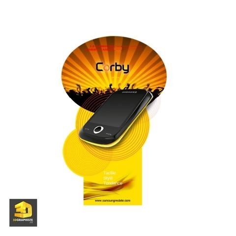 Graphiste PLV - Totem Samsung
