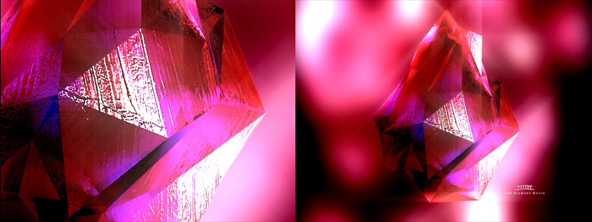 Illustration 3D Diamant