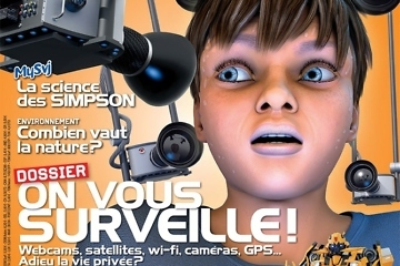 Illustration 3d magazine science et vie junior - Illustrateur Science et Vie