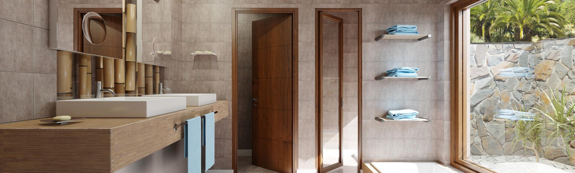 Illustration d'architecture 3D Balinéa - Perspective 3D salle de bain