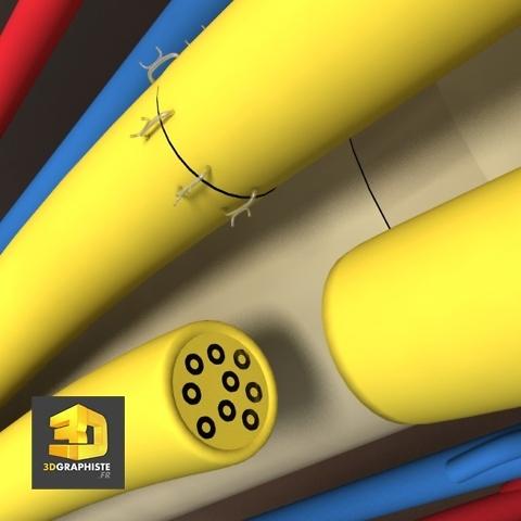 image 3d - suture de nerfs