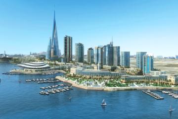 infographie 3d architecture-amenagement urbain ville de djeddah