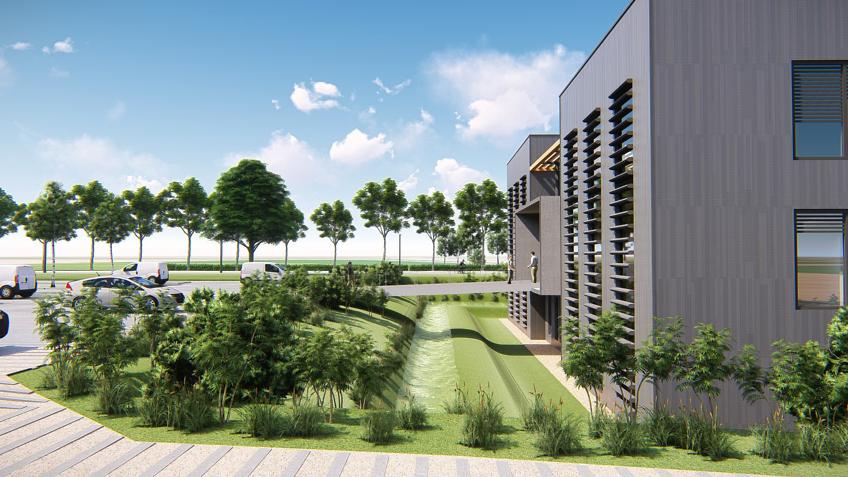 infographiste 3d architecture - perspectives de bâtiments