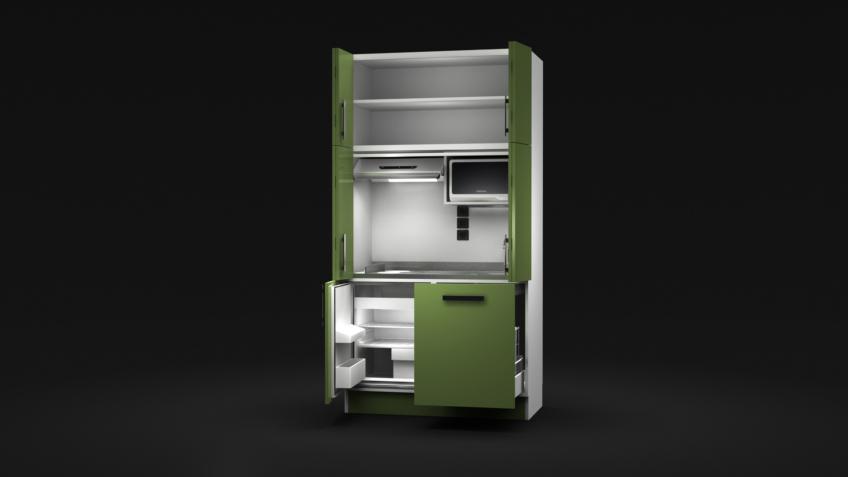 Infographiste 3D - Meuble de cuisine - Kitchenette
