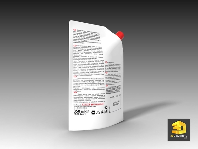 Infographiste 3D packaging suzuki