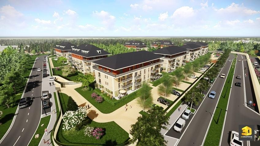 infographiste 3d résidence - Perspective immobilière