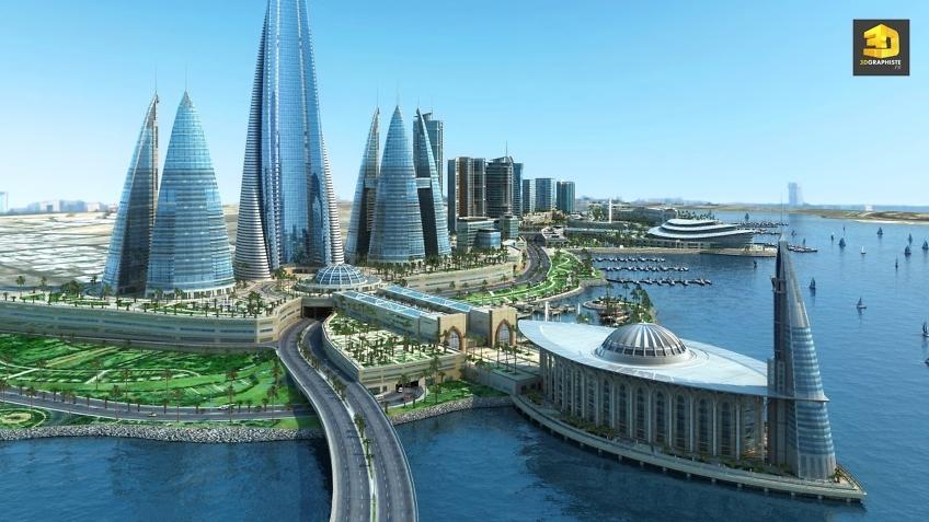 Infographiste Architecture Villes - Illustrations de villes