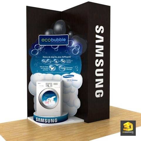 Infographiste PLV Samsung - Électroménager