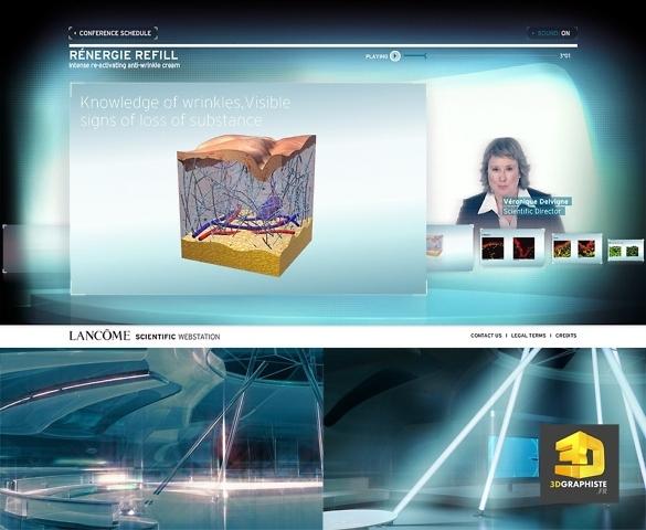 Interface 3d lancome refill