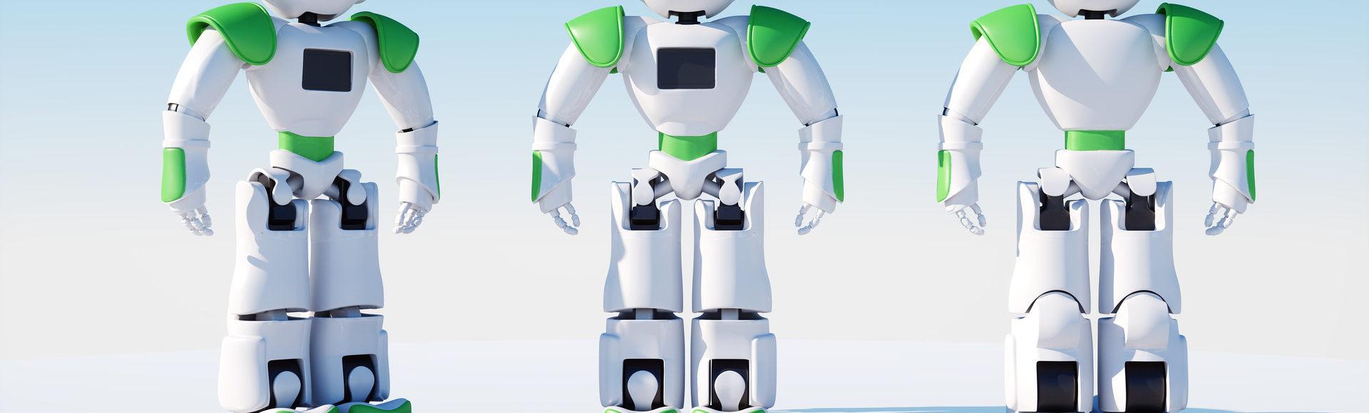 Mascotte Robot