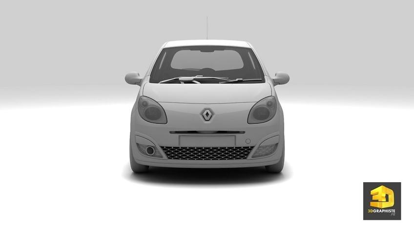 Modeleur 3D automobile - Renault Twingo