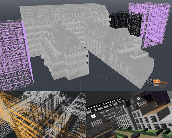 modeleur architecture immeuble batiment