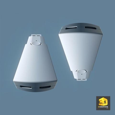 cle usb 3d - modelisation 3d cao