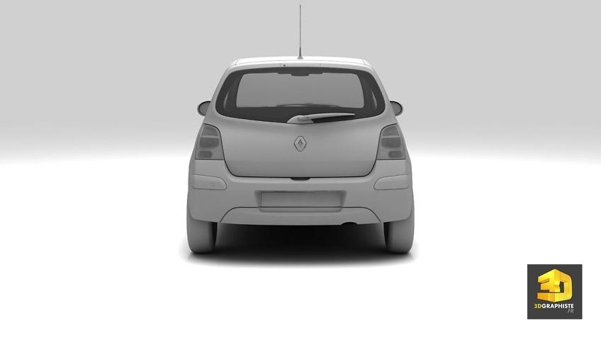 modelisation de voitures en 3d - Renault Twingo