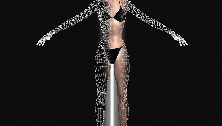 Personnage 3d femme - modelisation 3D Femme