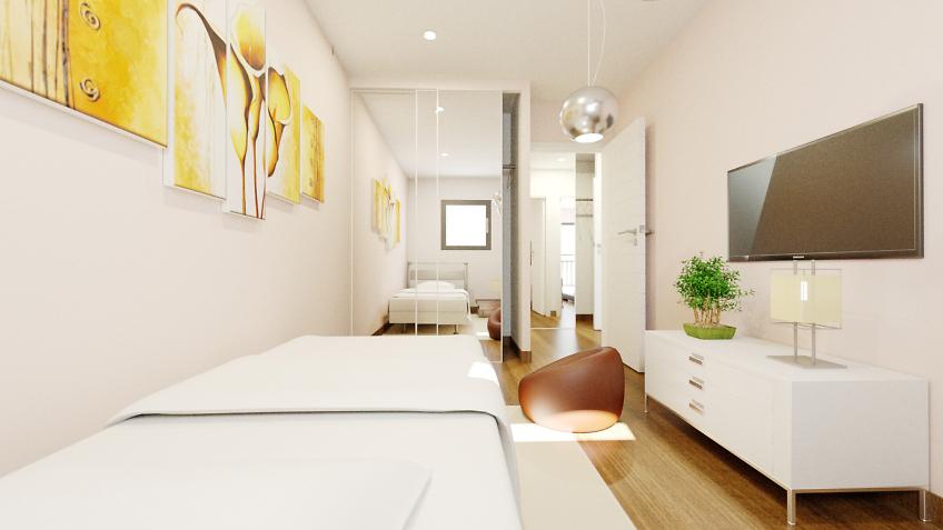 Perspectiviste 3d intérieurs appartements - chambre d'enfants