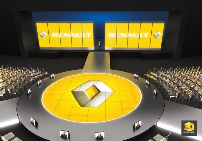 Rough 3D evenementiel - convention