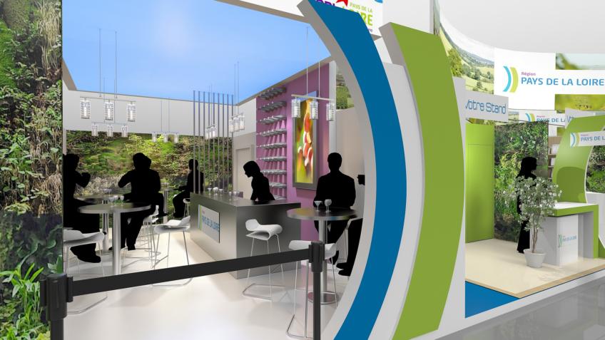 Rough 3D - Stand Pavillon - Bar