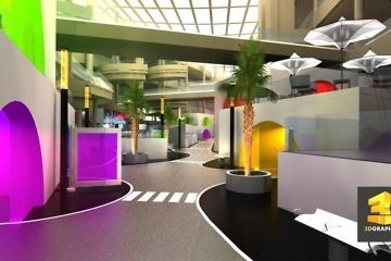 Rough événementiel - Centre commercial