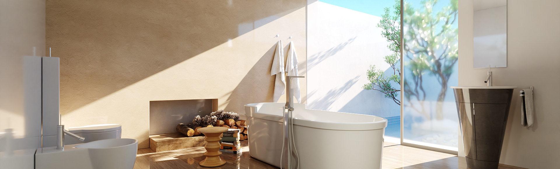 Perspectiviste 3D de salle de bain