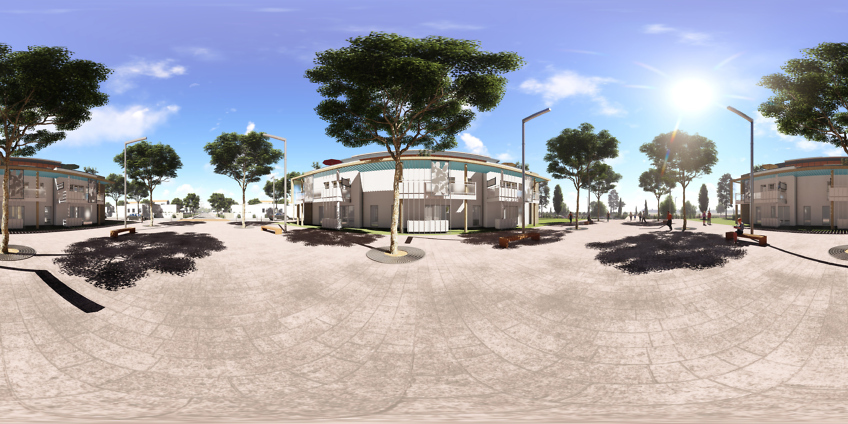vrview réalité virtuelle 360 degrés - lotissement à Vias