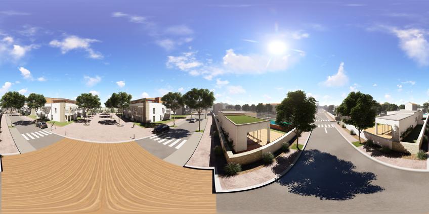 vrview réalite virtuelle 360 - lotissement à Vias