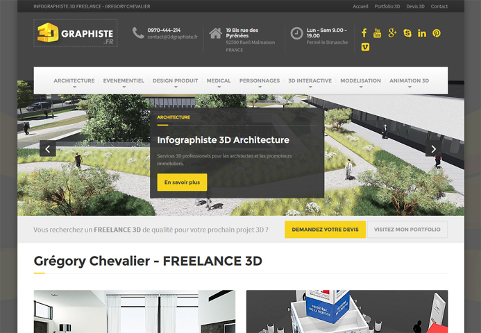 WebDesigner - Création de site internet