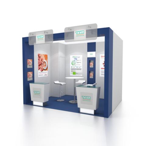 Conception d'un mini-stand TEVA