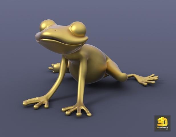 illustration 3d grenouille