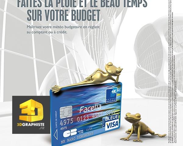 Publicite print magazine - Banque Populaire