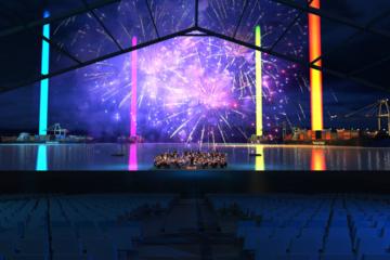 Rough Scénographie Évènementiel - Spectacle Inauguration