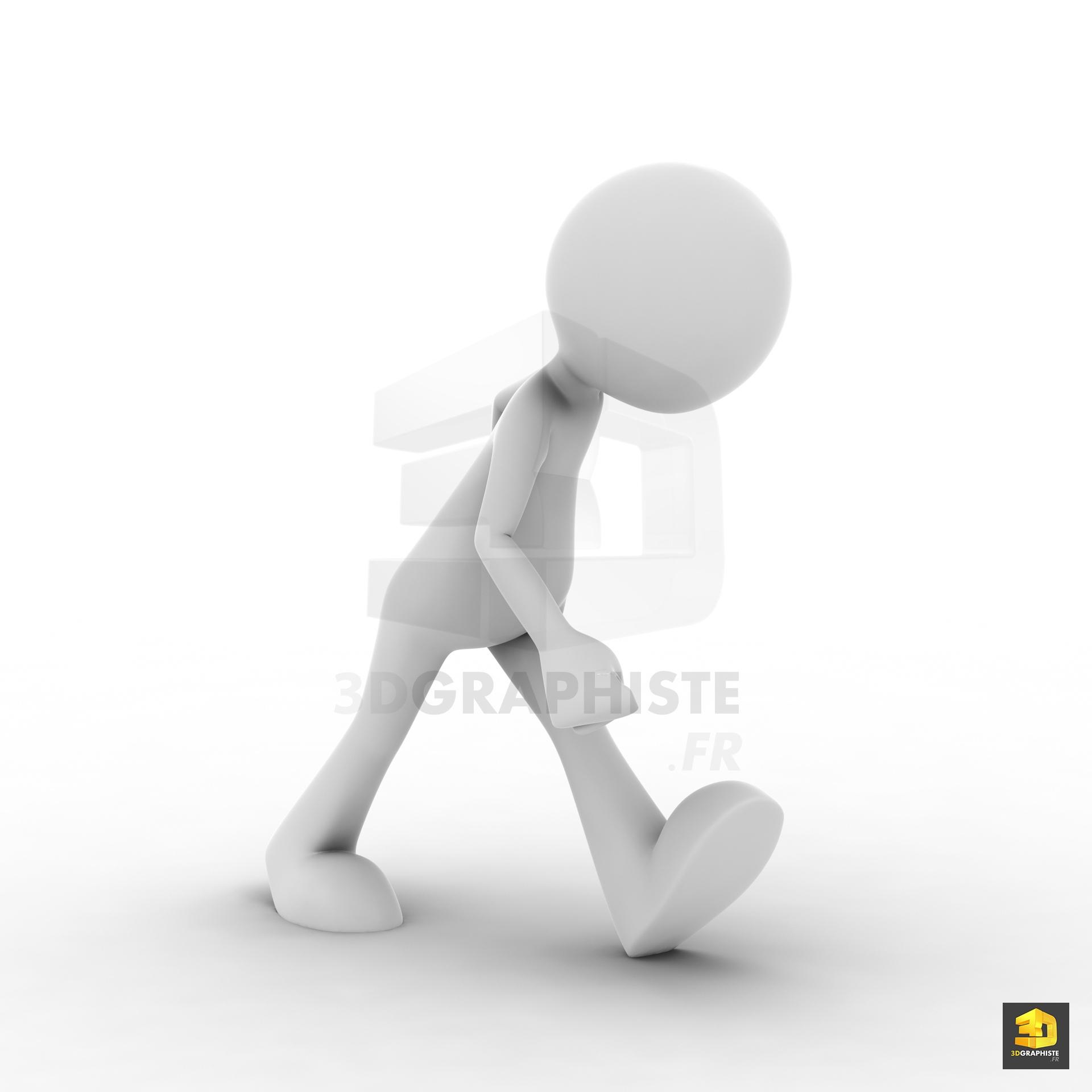 Bonhomme 3d cr ation de poses 3dgraphiste fr for Creation entreprise qui marche