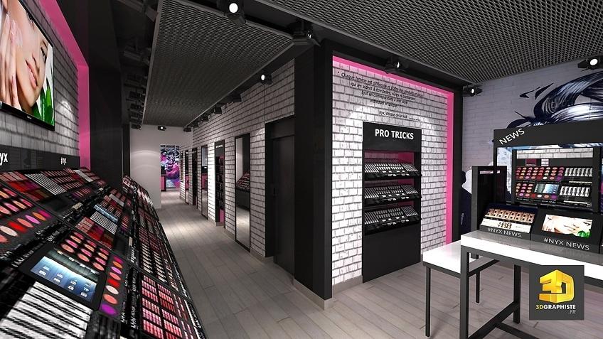 Designer magasins NYX