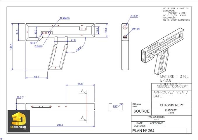 Dessinateur plans AutoCAD